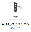 Ejemplo de archivo ZIP del módulo Advanced Top Menu